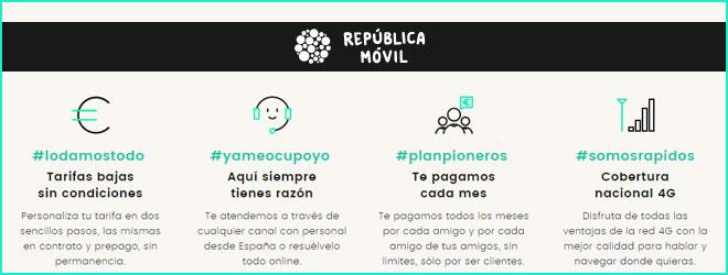 oferta de Movilonia.com y República Móvil