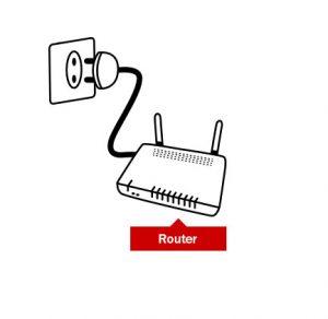router de fibra óptica de Pepephone