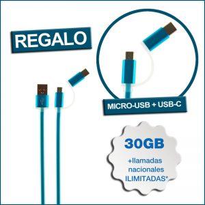 regalo micro-USB/USB-C