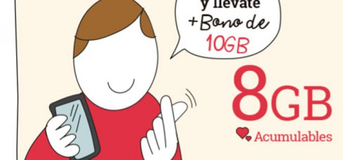 Tarifas móviles Lowi + 10GB extra GRATIS
