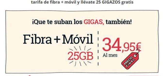 Fibra + móvil de Lowi
