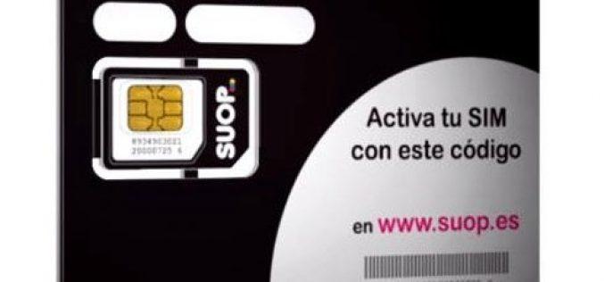 Oferta prepago de SUOP: 3GB + 5€ de saldo GRATIS